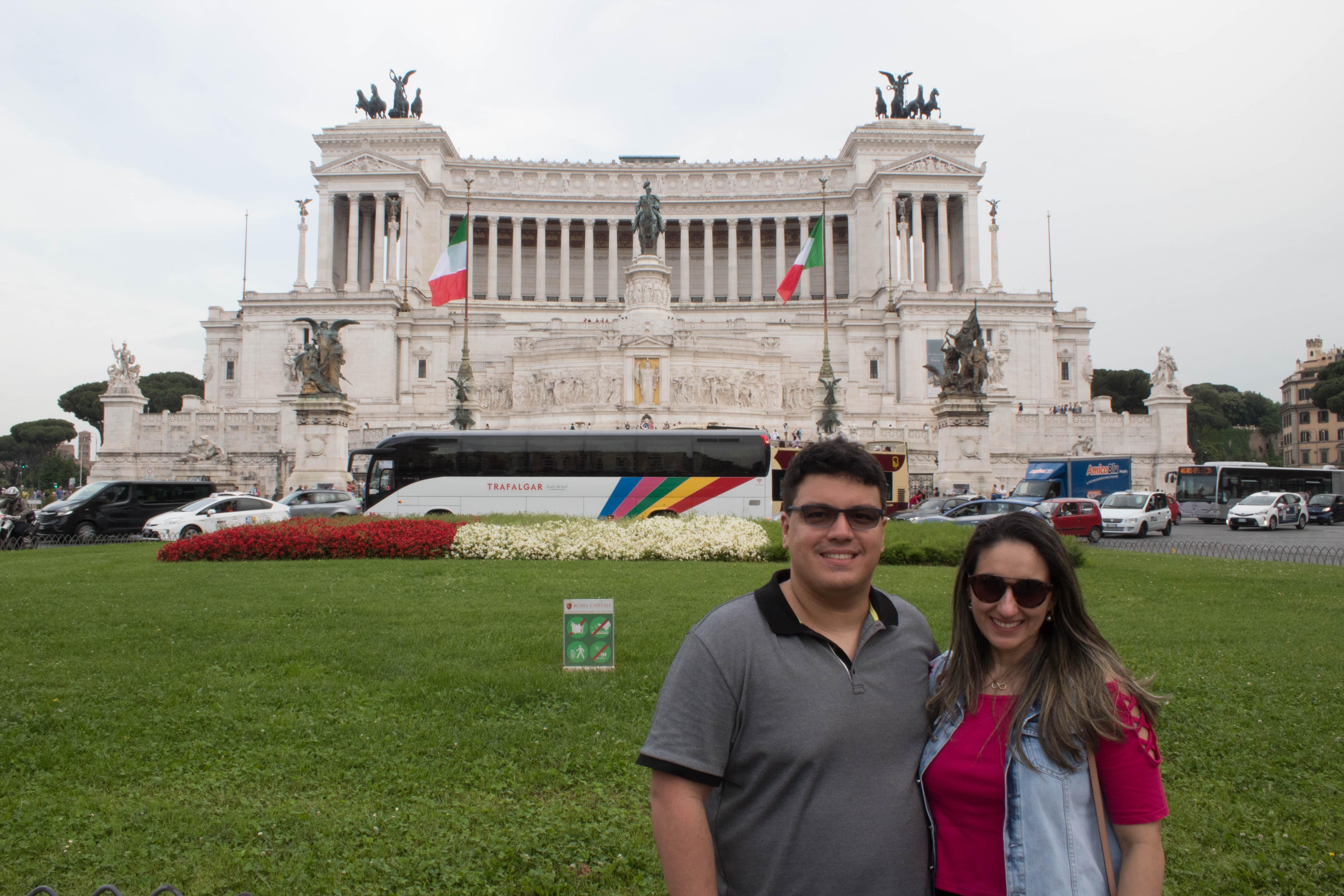O que fazer em Roma? Piazza Veneza e Museu Vitoriano